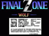 Final Zone Wolf