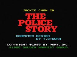 Jacki Chan in the Police Story