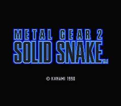 Metal Gear 2: Solid Snake
